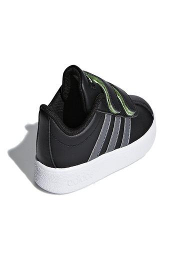 adidas Vl Court 2.0 Cmf I Bebek Günlük Ayakkabı F36402 Siyah